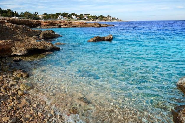 Denia las rotas en mer méditerranée alicante