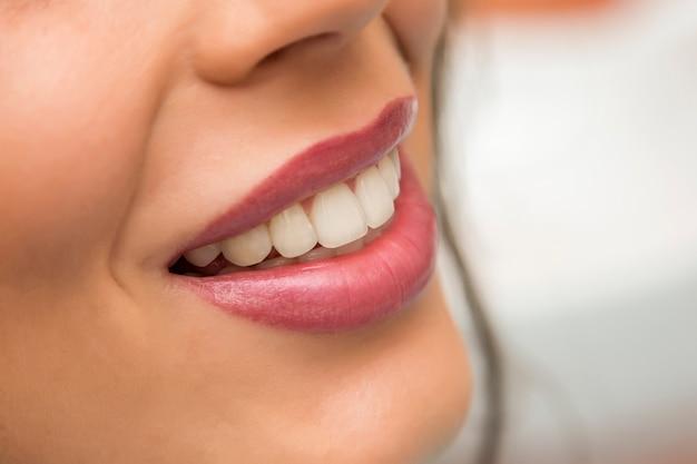 Les dents et les lèvres