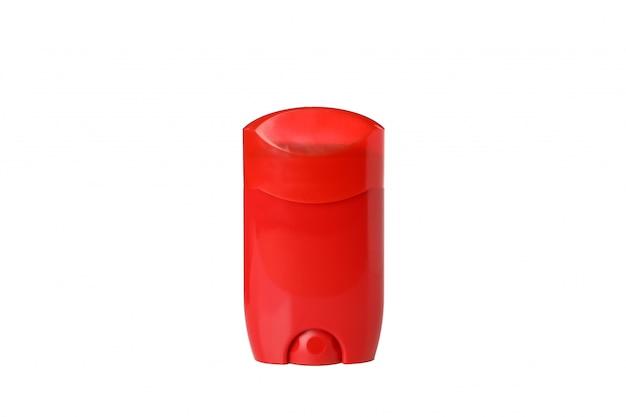Déodorant corporel isolé sur fond blanc, espace vide