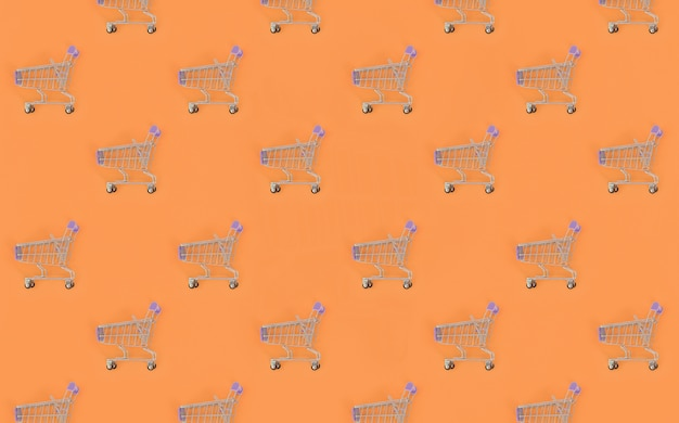 Dépendance au shopping, amateur de shopping ou concept accro du shopping
