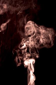 Dérive de la fumée blanche superpose fond de texture