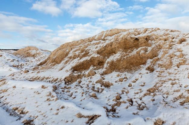 Dérives de neige profonde
