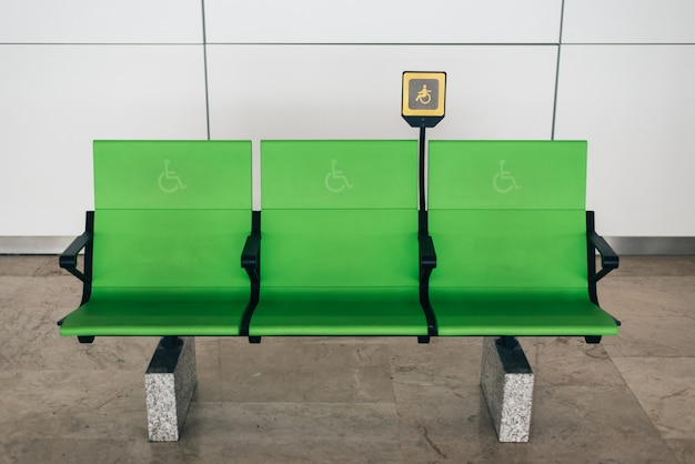 Désactiver les sièges verts à l'aéroport