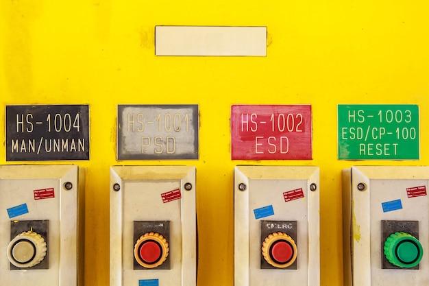 Désactivez les contrôles de sécurité utilisés dans l'industrie.