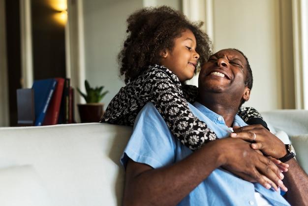 Descente africaine maison familiale maison au repos