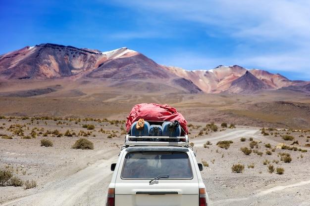 Désert de dali en bolivie