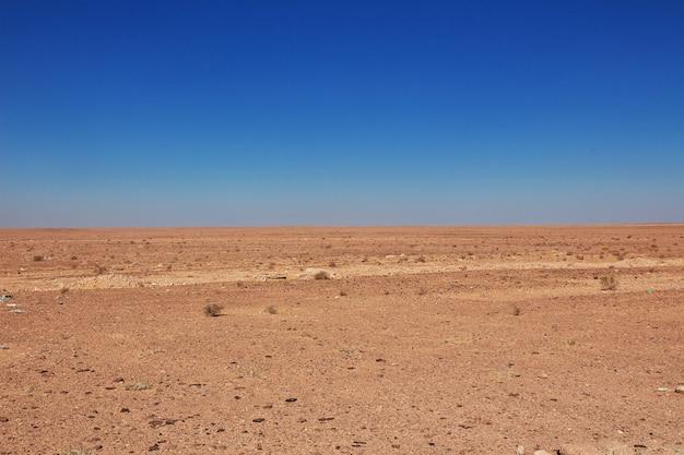 Désert du sahara au coeur de l'afrique