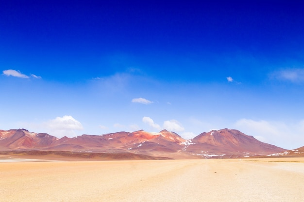 Désert de salvador dali en bolivie