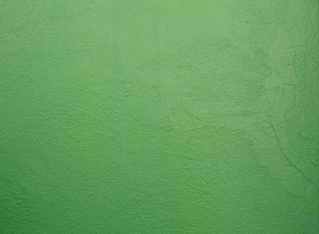 Design architectural intérieur sans couture fraîchement peinte de couleur verte