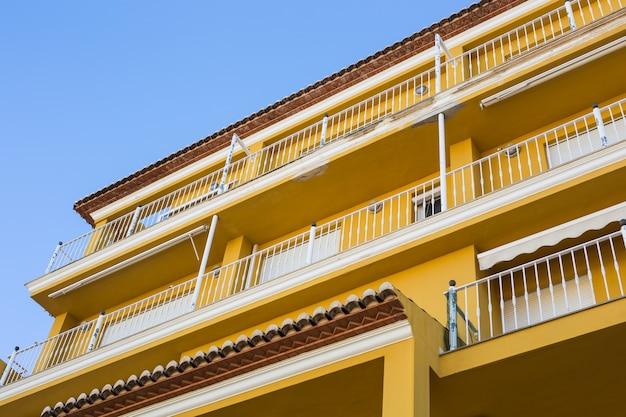 Design architecture et concept extérieur de balcons modernes