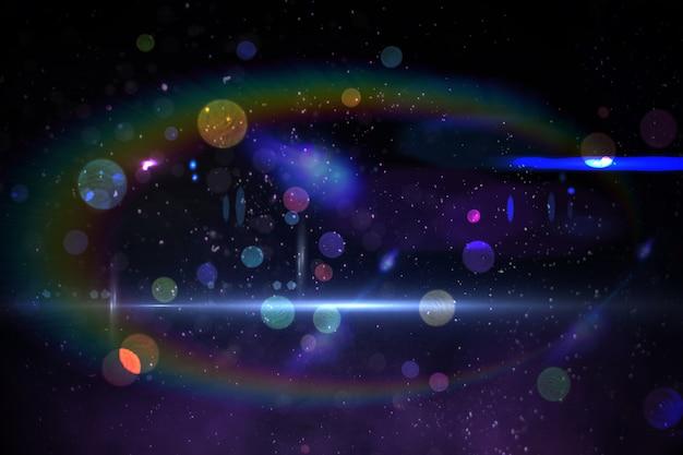 Design disco généré numériquement dans des couleurs froides