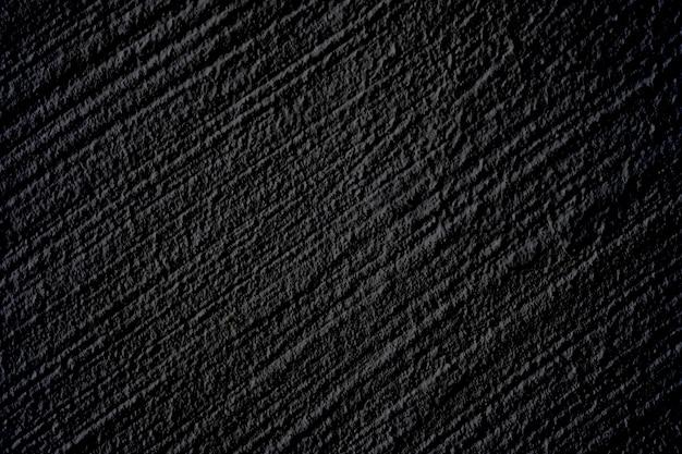 Design extérieur de mur de béton noir de luxe pour la texture et l'arrière-plan