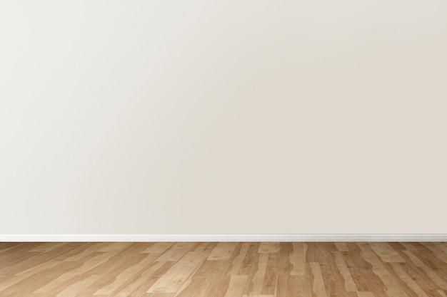 Design d'intérieur authentique de pièce vide minimale
