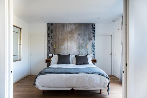 Design d'intérieur de belle chambre moderne