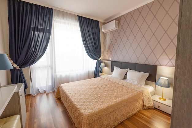 Design d'intérieur de chambre à coucher