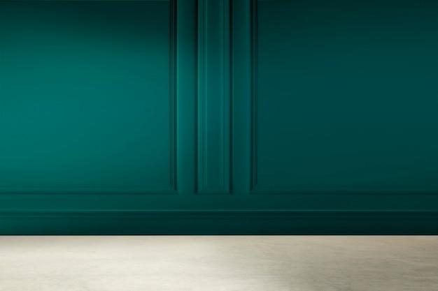 Design d'intérieur de chambre de luxe moderne vide