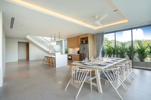 Design d'intérieur dans une villa