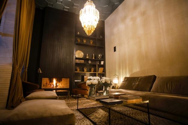 Design d'intérieur luxueux