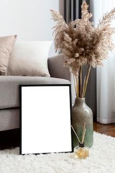 Design d'intérieur à la maison avec espace de copie