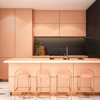 Design d'intérieur pour garde-manger dans un style moderne
