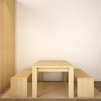 Design d'intérieur pour salle à manger dans un style scandinave