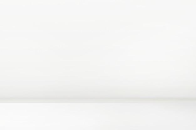 Design d'intérieur de salle blanche vide