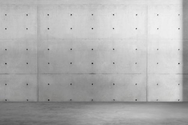 Design d'intérieur de salle industrielle vide