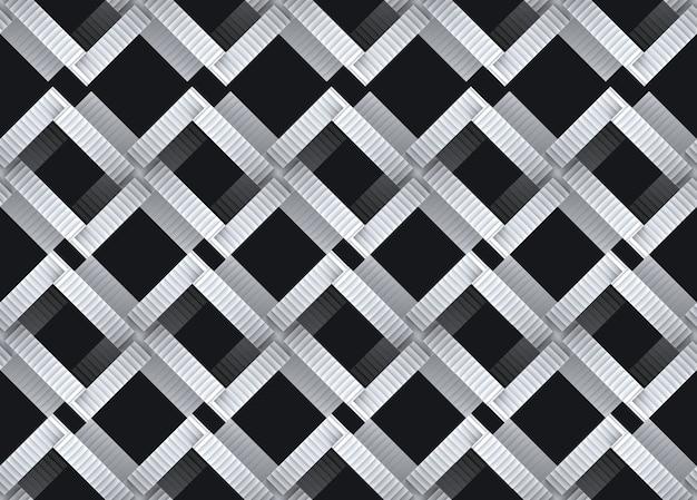 Design moderne du modèle d'escalier sans couture d'intersection