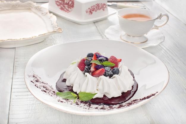 Dessert anna pavlova