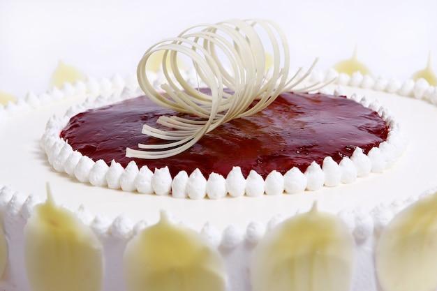 Dessert aux gâteaux aux fruits