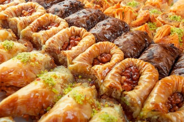 Dessert baklava turc