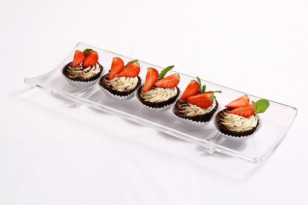 Dessert gâteau aux fruits