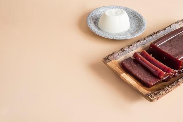 Dessert juliette et roméo typique du brésil