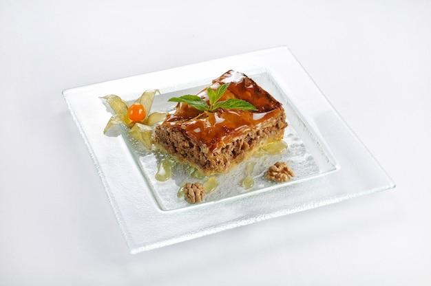 Dessert de pâte feuilletée