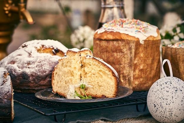 Dessert traditionnel russe au fromage de pâques