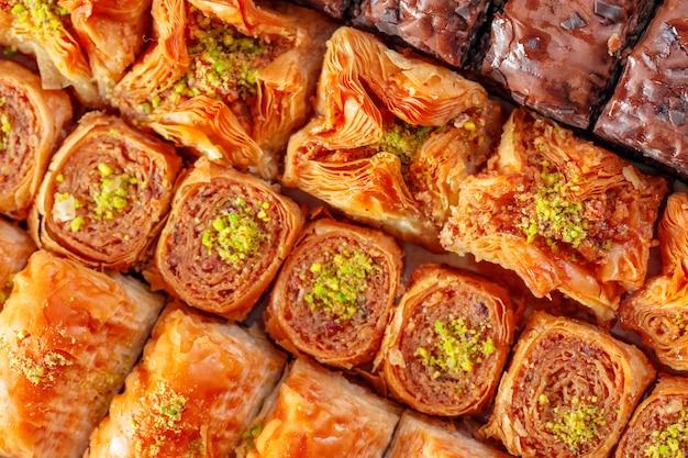 Dessert turc baklava