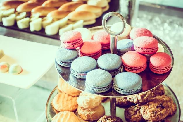 Desserts colorés délicieux