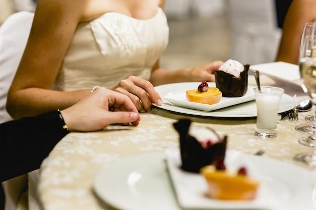 Desserts froids et gâteaux de mariage