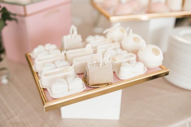 Desserts de table de mariage