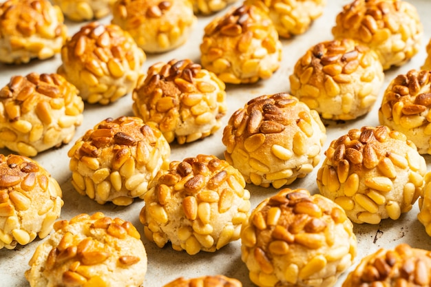Desserts typique de la catalogne, espagne