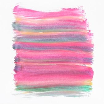 Dessin abstrait lignes colorées