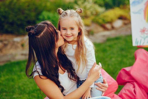 Dessin mère et fille