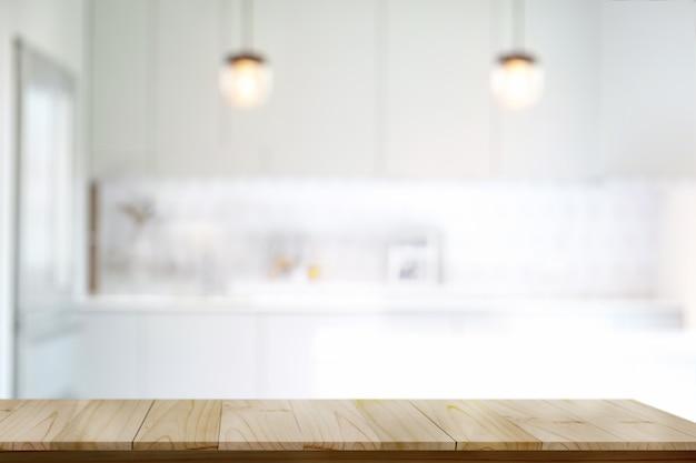 Dessus en bois vide ou table de coupe