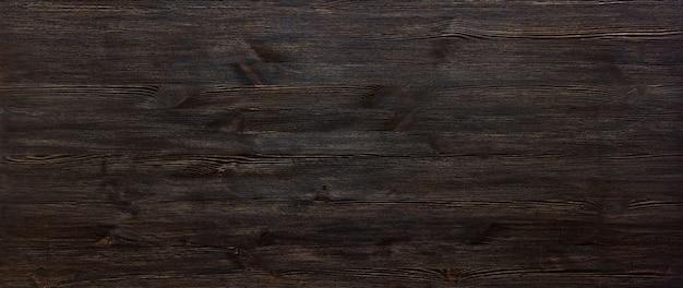 Dessus de bureau en bois peint en brun foncé
