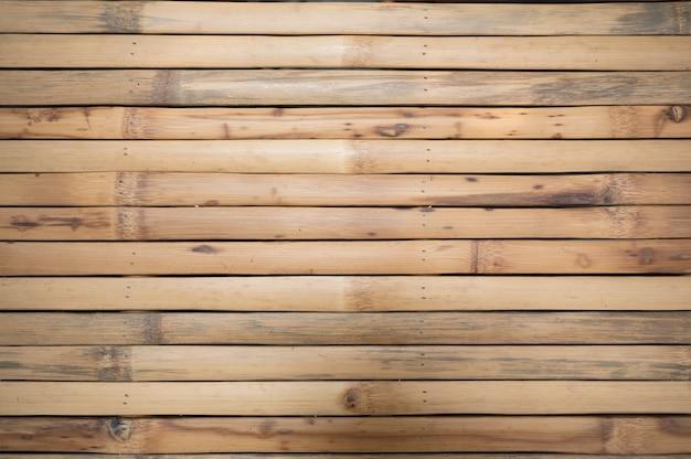 Dessus de table de tissage bois de bambou d'écorce sèche de l'artisanat