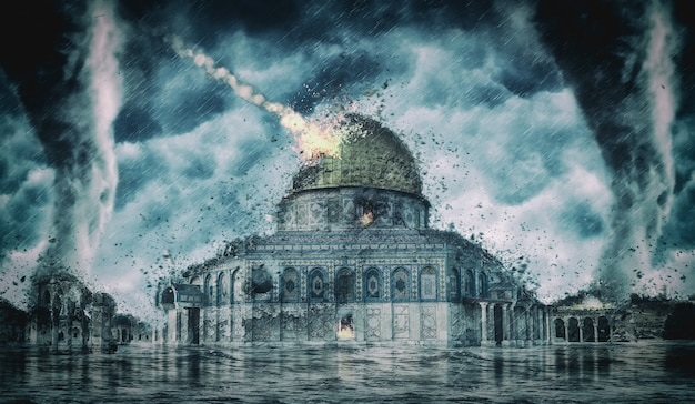 Destruction apocalypse israël (jérusalem)