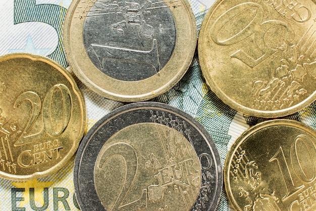 Détail de l'argent européen
