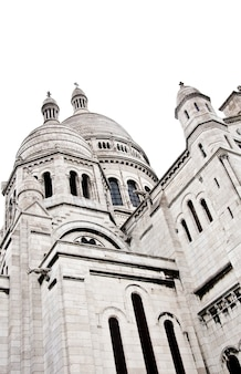Détail de la basilique du sacré-cœur de paris, communément appelée basilique du sacré-cã…â