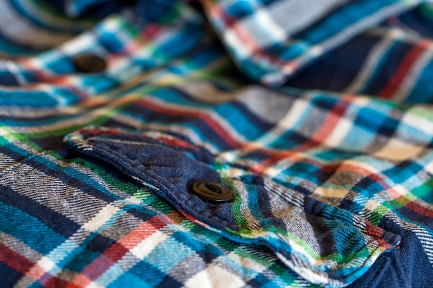Détail de la chemise