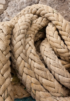 Détail de la corde des navires